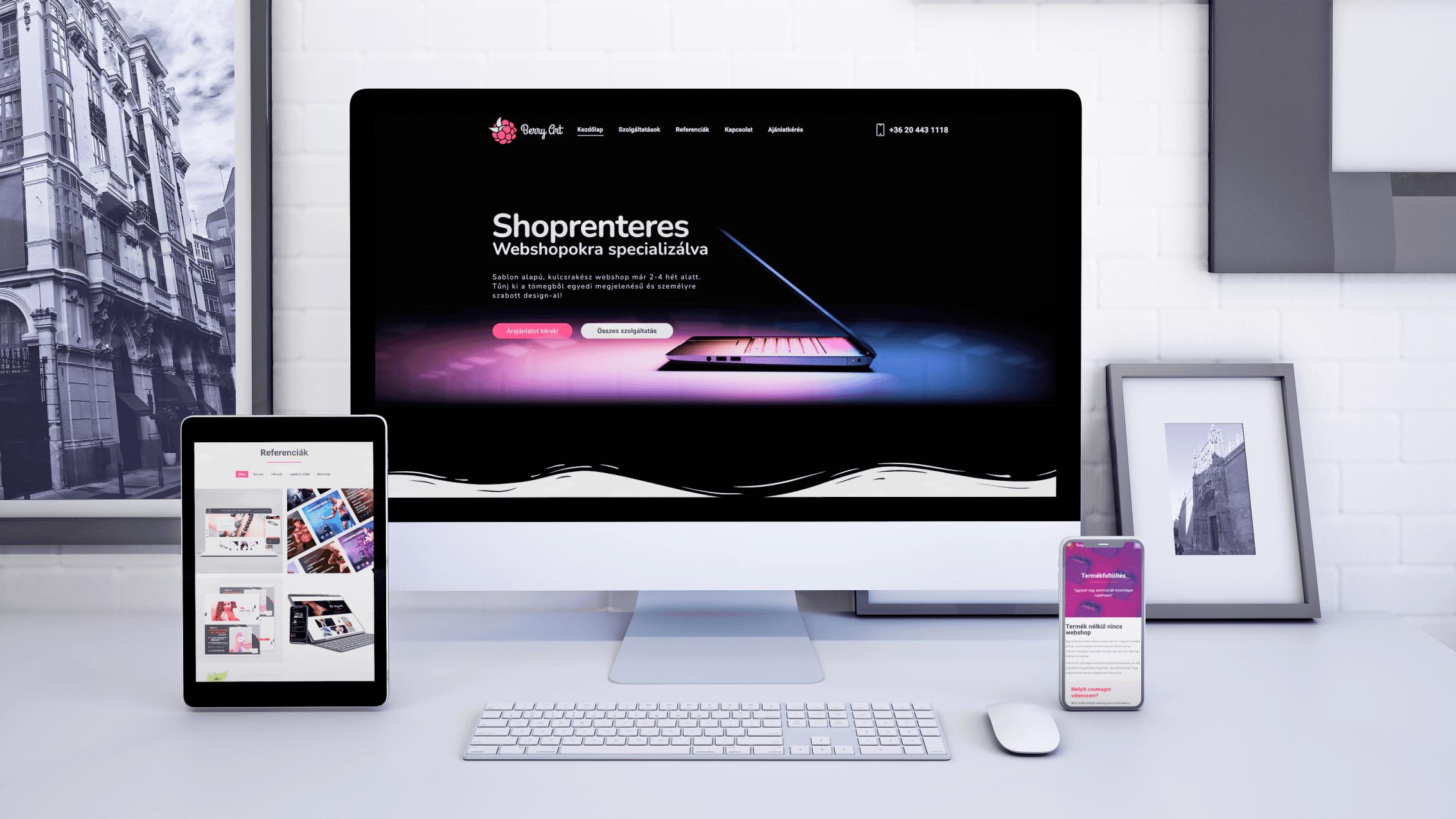 A webshop szakértő | www.berryart.hu
